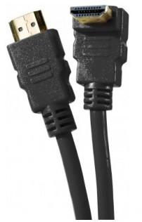 cable hdmi coudé haute vitesse brassage ethernet 1,5m a/a