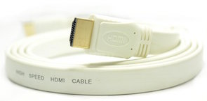 cable hdmi haute vitesse 1,8m a/a extra plat