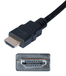 cable hdmi a male 2m