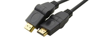 cable hdmi articulé haute vitesse 1,8m a/a