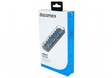 DACOMEX HB407 Hub 7 ports USB 3.0