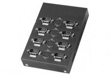 Convertisseur Boitier Métal USB 2.0 - 8 ports RS232 DB9