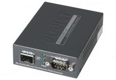 Planet serveur serie RS232/422/485 sur ip fibre SFP 100FX