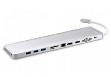 ATEN UH3234 Docking station USB 3.1 USB-C HDMI 4K DisplayPort VGA