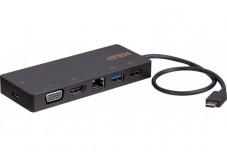 ATEN UH3236 Mini Dock Type-C 5en1 HDMI/VGA/LAN/Charge/Hub