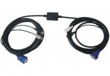 DEXLAN Rallonge booster 10m Ecran VGA + Clavier/souris USB 2.0