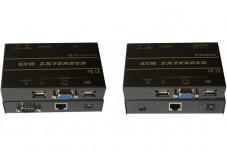 DEXLAN Prolongateur de console KVM VGA/USB 150M sur CAT5