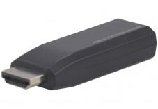 Convertisseur monobloc HDMI vers VGA+audio