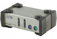 Aten CS82AC Switch KVM 2 U.C. PS2 + Cables