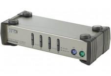 Aten CS84 Switch KVM 4 U.C. PS2 + Cables