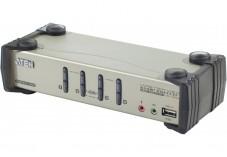 Aten CS1734B Switch KVM VGA/USB avec câbles - 4 U.C.