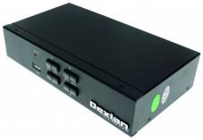 DEXLAN KVM switch 4 ports HDMI 4K / USB / Audio + câbles