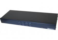Dexlan KVM 8 ports VGA/USB livré avec 8 modules CAT5 60m max