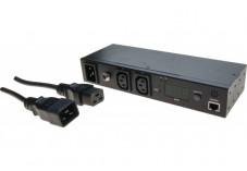 DEXLAN Mini PDU IP 16A 2 sorties C13 mesure & contrôles à distance