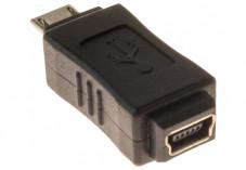ADAPTATEUR USB 2.0 MINI 5 PTS F / MICRO B M