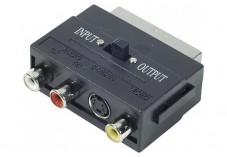 Adaptateur Péritel vers S-VHS & RCA