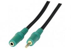 Rallonge stéréo jack 3.5 mm PC99 - 5 m