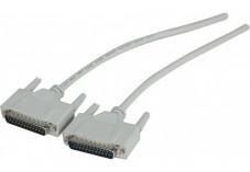 Cable moule DB25 m/m - 1.8M