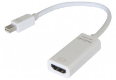 Convertisseur mini DisplayPort 1.2 vers HDMI 1.4 (4K)