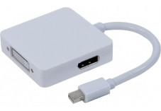 Convertisseur mini DisplayPort 1.1 vers DVI ou HDMI ou DP
