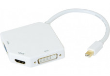 Convertisseur Mini DisplayPort 1.1 vers DVI ou HDMI® ou VGA
