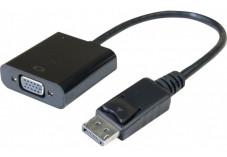 Convertisseur actif DisplayPort 1.2 vers VGA - 15CM