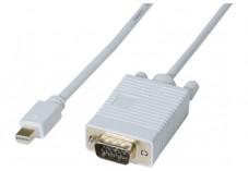 Cordon Mini DisplayPort 1.1 vers VGA - 3m