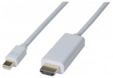 Cordon mini DisplayPort 1.1 vers HDMI 2M
