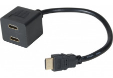 Câble partageur 1 HDMI/ mâle vers 2 HDMI /femelle