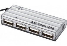Dacomex Hub USB 2.0 HighSpeed - Mini 4 ports