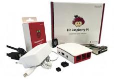 Kit de démarrage officiel Raspberry Pi 3 B+ avec carte NOOBS