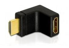DELOCK Adaptateur HDMI M vers HDMI F 90° Haut