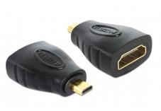 DELOCK Adaptateur Micro HDMI M vers HDMI F