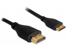 Câble HDMI mâle vers Mini HDMI mâle - 1m - DELOCK