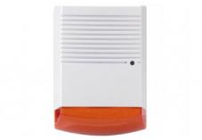 Siréne factice à LED clignotante rouge