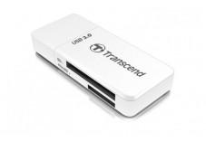 TRANSCEND TS-RDF5W  Lecteur de cartes USB 3.0 (8 en 1) Blanc