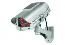Caméra factice extérieure avec module solaire & simulation IR