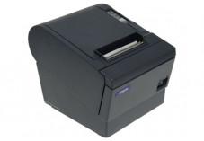 Imprimante thermique tickets Epson TM-T88V noire  série / USB (avec alim.)