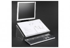DATAFLEX Porte copie/document Acrylique - Hauteur fixe 44410