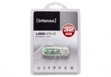 INTENSO Clé USB 2.0 Rainbow Line - 32Go Transparent