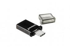 INTENSO Clé USB 2.0 Mini Mobile Line USB + Micro USB - 8Go