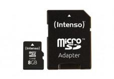 INTENSO Carte MicroSDHC Class 4 - 8 Go