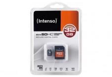 INTENSO Carte MicroSDHC Class 4 - 32Go