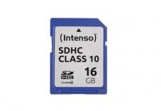 INTENSO Carte SDHC Class 10 - 16Go