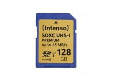 INTENSO Carte SDXC UHS-I Premium Class 10 - 128 Go