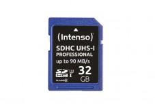 INTENSO Carte SDHC UHS-I Professional Class 10 - 32 Go