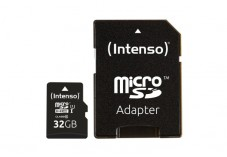 INTENSO Carte MicroSDHC UHS-I Premium Class 10 - 32 Go