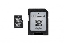 INTENSO Carte MicroSDHC UHS-I Professional Class 10 - 16Go