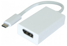DACOMEX Sachet convertisseur USB 3.2 Type-C vers DisplayPort 1.2