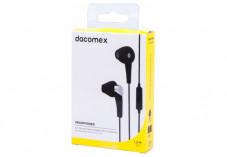 DACOMEX Ecouteurs avec micro jack 3.5 mm - 1,2 m